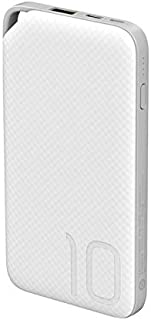 Huawei 10000 mAh Quick Charge Wired Power Bank for Mobile Phones, AP08Q, White, AP08Q