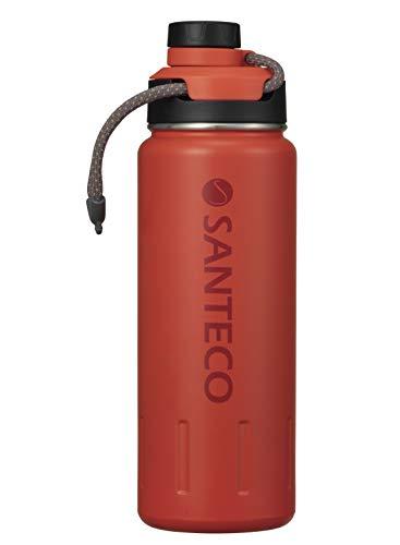シービージャパン 水筒 サンセット オレンジ 640ml 直飲み ステンレス ボトル 真空 断熱 K2 スポーツボトル SANTECO