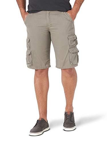 Wrangler Authentics Men's Premium Twill Cargo Short, Bullfrog, 36