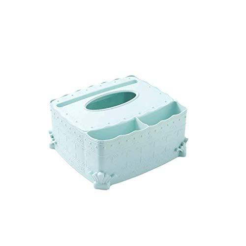 ADSE Soporte para Control Remoto Organizador de Medios de Montaje en Pared Caja de Almacenamiento Tres Compartimentos