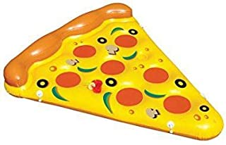 Inflatable Pizza Slice Swimming Pool Float