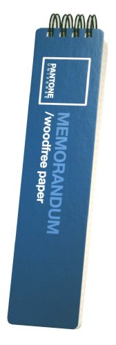 Pantone 50272-27566-6 Notizbuch, 150 Blatt, Blau, 2 Stück