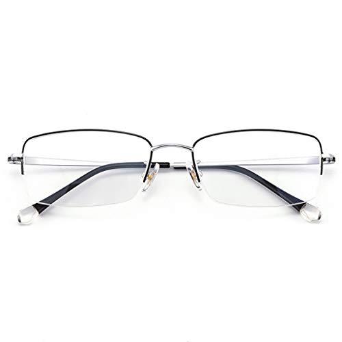 Gafas de Sol de Titanio Puro Ultraligero para Hombres de Neg