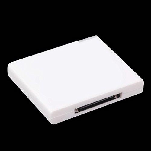 WEQQ Adaptador de Receptor de música A2DP para iPod para iPhone, Altavoz...