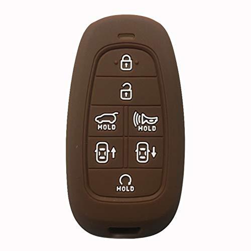 XQRYUB Contrôle Flip Key Hyundai Keys CaseCar Key Cover Case, Fit for Hyundai Sonata Dn8 2019