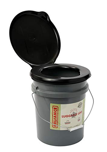 Reliance Products Luggable Loo Portable 5 Gallon Toilet