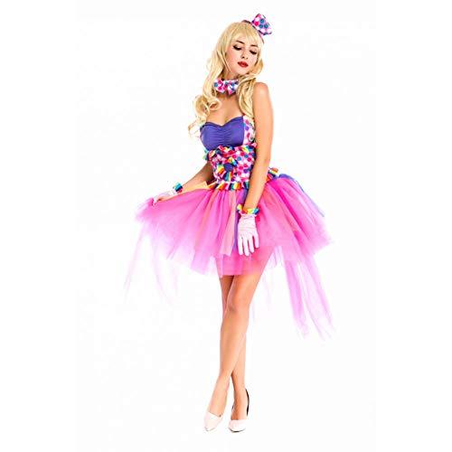 GBYAY Halloween Fantasy Dress Funny Circus Fairy PrincessDisfraces de...