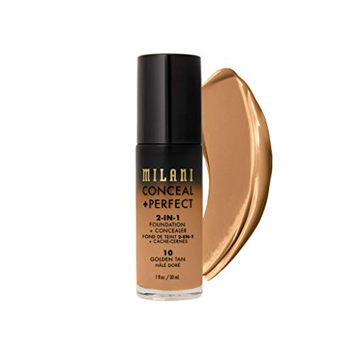 MILANI Conceal + Perfect 2-In-1 Foundation + Concealer - Golden Tan