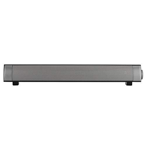 SHYEKYO Barra de Sonido Bluetooth para Llamadas Manos Libres, Barras de Sonido inalámbricas de 100 Hz a 18 kHz para TV, para la mayoría de teléfonos, tabletas, computadoras portátiles y Otros