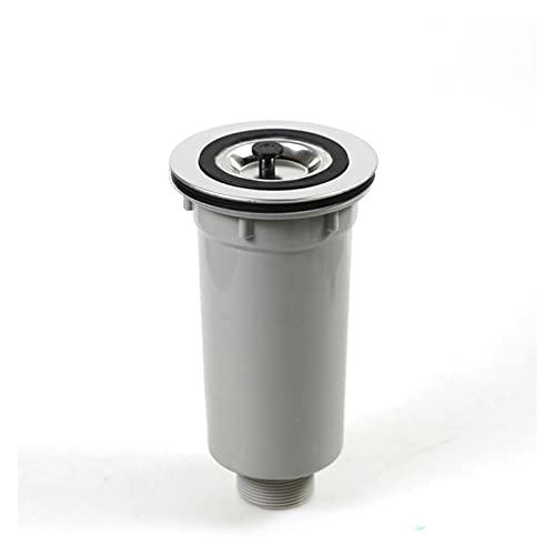 XUNLAN Durable Filtro de colador de Acero Inoxidable Filtro Cesta de desagüe Finomitchen Fregadero Tapón Tapón Tapón Fregadero Dispositivo Wearable