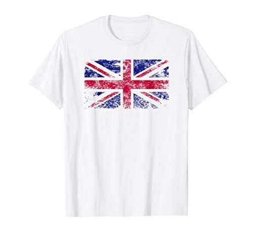Union Jack Flagge, Großbritannien Vintage Flagge T-Shirt