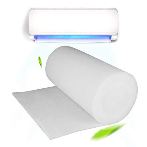 GOUER Klimaanlagenfilter, Ersatz Klimaanlagenfilter Klimaanlage Aktivkohlefilter Reiniger Ersatz Abscheider Entlüftung Wasserfilter Vorfilter Staub 100x100x0,3cm