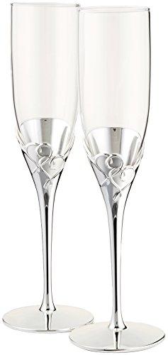 Lenox True Love Glass Flute Pair Clear, 1.25 LB