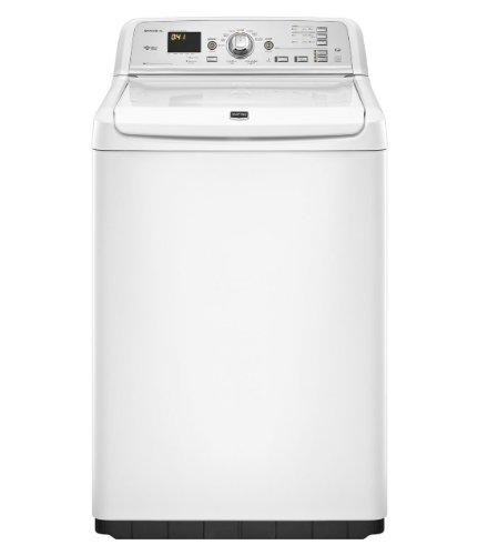 maytag washing machines Maytag MVWB750YW Bravos 4.6 Cu. Ft. White Front Load Washer - Energy Star