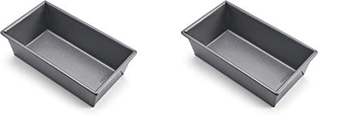 Chicago Metallic Commercial II Non-Stick 1-Pound Loaf Pan (Pack of two)