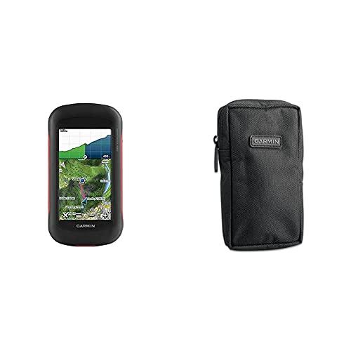 Garmin Montana 680 Navegación vía GPS y GLONASS + Estuche de Nylon con Cremallera para Dispositivo GPS
