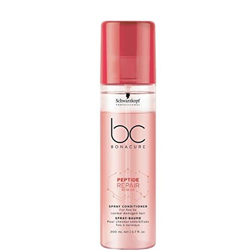 Schwarzkopf Professional BONACURE Peptide Repair Rescue Spray Conditioner, 200 ml