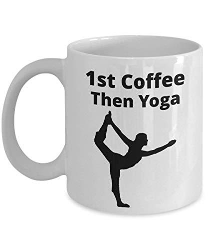 Yoga 1st Coffee Tazas y tazas de café divertidas