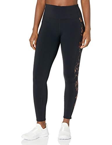 Skechers Women's Go Walk GoFlex High Waisted 2-Pocket Yoga Legging, Copper Foil Print, XL