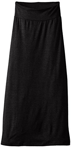 Amy Byer Girls' 7-16 Full-Length Maxi Skirt, Black, Small