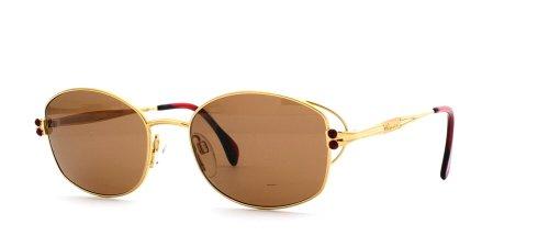 Chopard C514 6050 Gold Runde zertifizierte Vintage Sonnenbrille für Damen