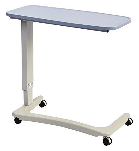 NRS EasyLift Overbed/Over Chair Tisch Modern Blue N43577 Höhenverstellbar - Gebogener Rollstuhlfuß