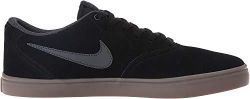 Nike SB Check Solar, Zapatillas de Deporte para Hombre, Negro (Black/Anthracite/Gum Dark Brown), 42 EU