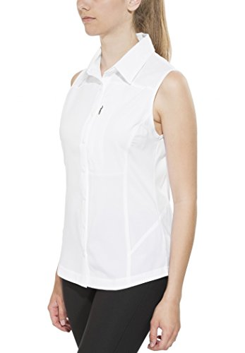 Columbia Silver Ridge II Chemise sans manche Femme Blanc FR : XS (Taille Fabricant : XS)