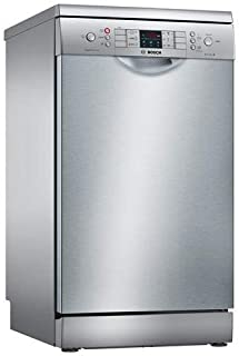 Bosch Serie 4 SPS46II07E lavavajilla Independiente 9 cubiertos A++ - Lavavajillas (Independiente, Estrecho (45 cm), Plata, Acero inoxidable, Botones, 1,75 m)