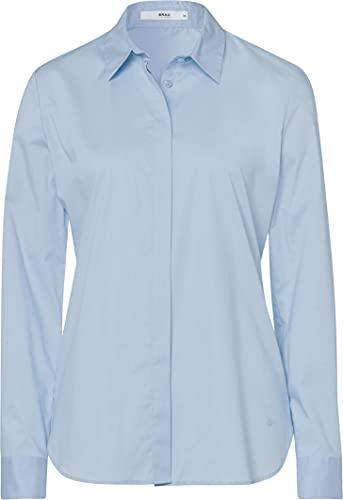 BRAX Damen Style Victoria Bluse, Blau (Light Blue 29), 36