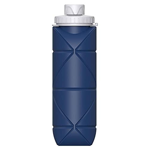 N\C Mini taza de agua plegable, botella de agua de silicona gruesa telescópica portátil, apta para todos los deportes al aire libre tazas de agua (peso 0.1 kg)