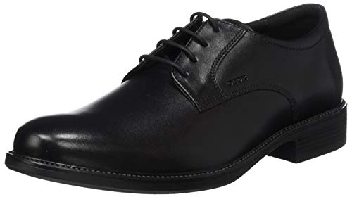 GEOX Man UOMO CARNABY SHOES BLACK_45 EU