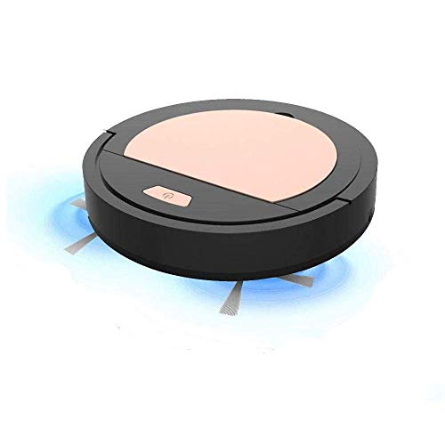Robot Vacuum Cleaner, 3 In 1 Automatic Sweeping Vacuuming& Mopping Robotic Vacuum Cleaner, Super-Thin, 1800Pa Strong Suction, Quiet, Anti-Collision, Good For Pet Hair, Carpets,Hard Floors,Tile,Black LATT LIV