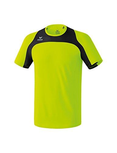 erima Race Line–Camiseta de Running, Infantil, Color Neon Gelb/Schwarz, tamaño 140