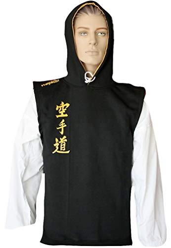 """Hayashi Ärmelloser Hoodie """"Karate-Do"""" - schwarz, Gr. XXL"""