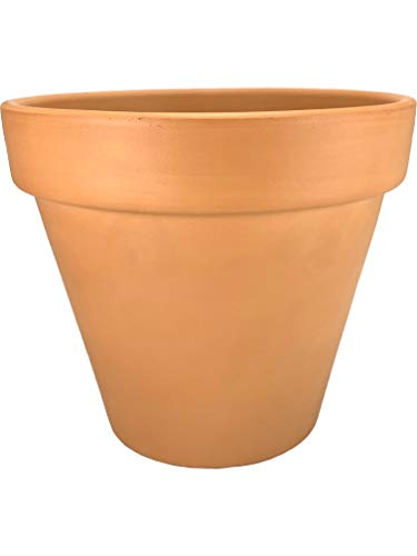 Maceta Barro Terracota Natural 15,5 x 13,5 cms Pack 5 Unidades Exterior