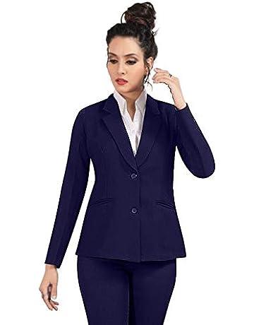 New Look Womens T Mark Animal Blazer Suit Jacket