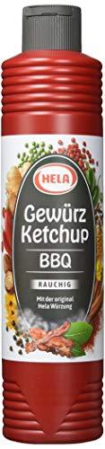 Hela BBQ Gewürz Ketchup 800 ml (1 x 800 ml)