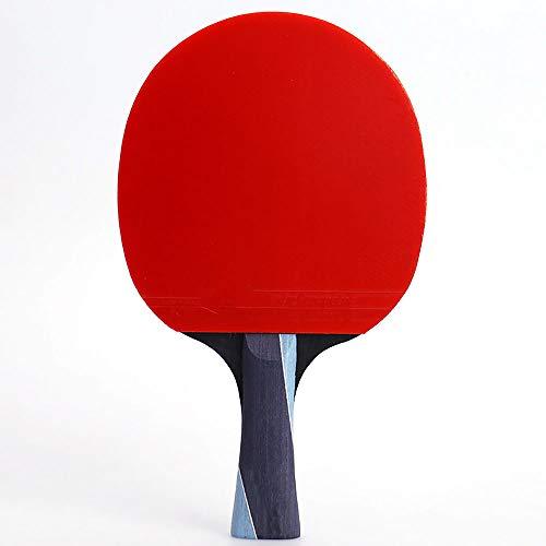 Y-H Juego de raqueta de tenis de mesa individual de tres estrellas para raquetas de tenis de mesa y tiro horizontal