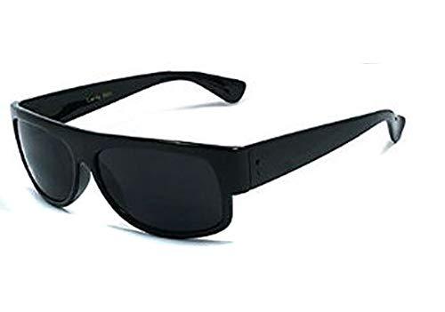 Classic Old School Super Dark Lens Eazy E Locs Sunglasses-U036Sd- NO LOGO