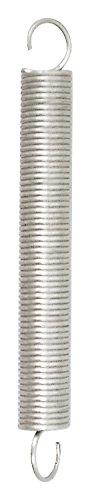 Chapuis rst1Molla di trazione acciaio galvanizzato, Grigio, 170mm