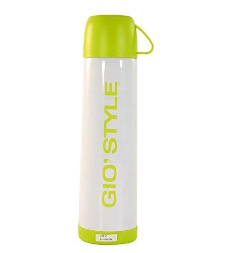 GIOSTYLE 6503011, Bouteille Unisexe – Adulte, Blanc, 8,5 x 8,5 x 30 cm