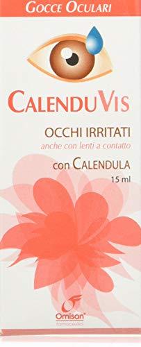 Calenduvis Gocce Oculari con Estratto di Calendula per Occhi Irritati - 15 ml