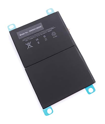 Batterie vhbw 8820mAh (3.73V) pour Netbook Pad Tablet Apple A1474, A1475, iPad 5, iPad Air, iPad Mini Air, MD785LL/A, MD786LL/A comme 6712-6700, A1484