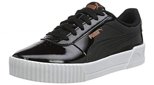 Puma Damen Carina P Sneaker, Schwarz (Puma Black Puma Black), 39 EU (6 UK)