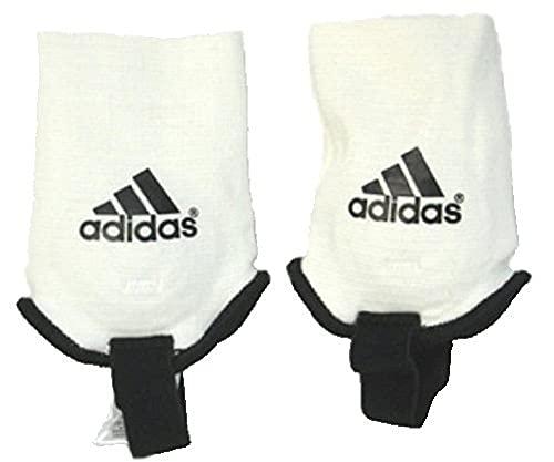 Adidas Knöchelschutz, White/Black, One Size