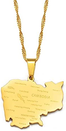 Cambodian necklace