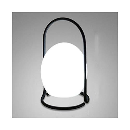 WFL-lámpara de escritorio Lámpara de mesa europea minimalista creativo moderno de LED de colores Ambiente mesa Lámpara USB portátil recargable dormitorio luz de la noche de noche lámpara decorativa Lá
