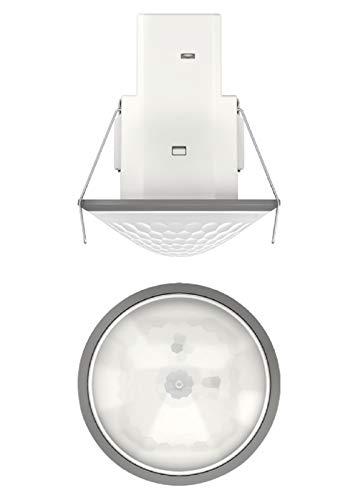 Theben 1030566 Mova S360-101 DE GR bewegingsmelder voor inbouw in plafond, besturing voor verlichting en HKL