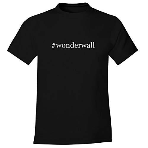 #wonderwall - Men's Soft Comfortable Hashtag Short Sleeve T-Shirt, Black, X-Large